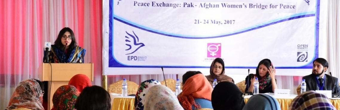 Peace Exchange in Kabul: Pak-Afghan Women's bridge for Peace