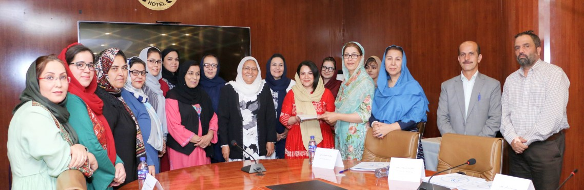 The Perspectives and Recommendations of the Provincial Women's Networks handed over to the women delegates of the negotiation team