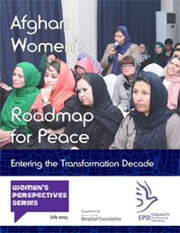Afghan Women's Roadmap for Peace
