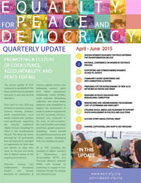 newsletter 2nd Q 2015